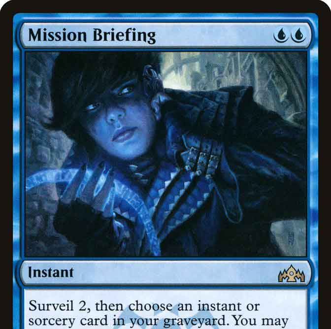 Picture of Magic the Gathering Card: Mission Briefing