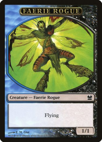 Card Name: Faerie Rogue. Mana Cost: . Card Oracle Text: Flying. Power/Toughness: 1/1